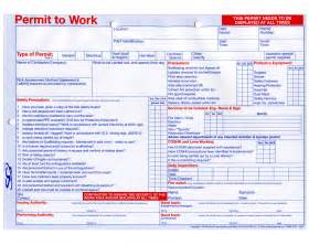 multipurpose permit to work available from sg world
