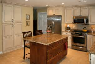 Kitchen Cabinet Islands st louis kitchen cabinets 35l paint glazed kitchen remodel jpg