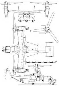 Drawing Blueprints boeing v 22 osprey blueprint download free blueprint for 3d modeling