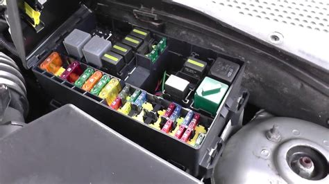 ford focus fuse relay box location video youtube
