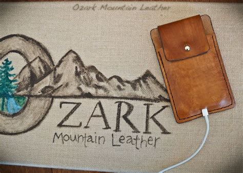 Handmade Leather Cell Phone Holsters - made leather cell phone holsters for iphone 5 by