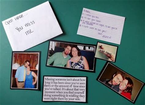 Letter Closing Until We Meet Again open when you miss me this letter has a few pictures of