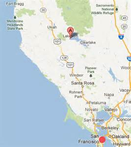 lakeport california map turner s mysterious world persistent sinkholes and