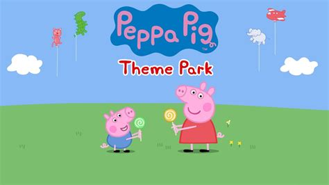 Peppa Pig Amusement Park Zy 667 2 peppa pig episodes theme park gameplay app demo for children