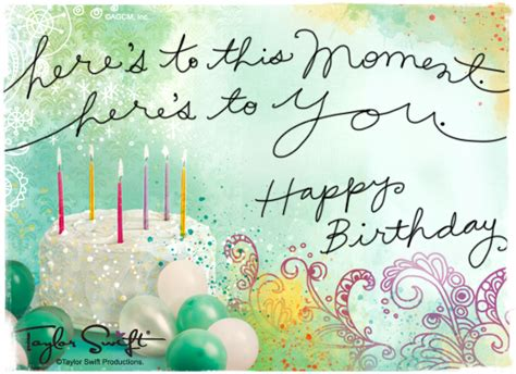 Taylor Swift Free Gift Cards - happy birthday ecards american greetings