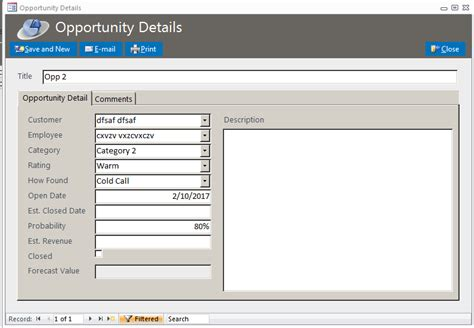 how to make an inventory database in access 6 steps