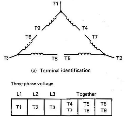 3 phase 12 lead delta motor wiring diagram 3 free engine