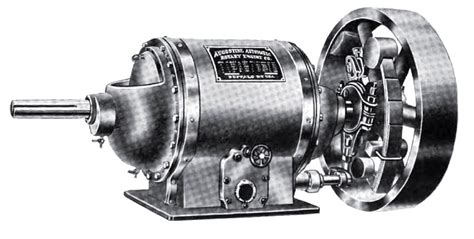 augustine automatic rotary engine  history