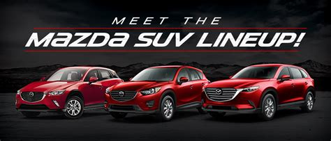 Mazda Suv Lineup In Memphsi Tn Gossett Mazda