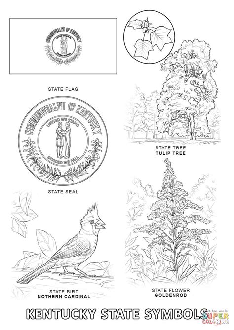virginia state colors virginia state symbols coloring pages color bros