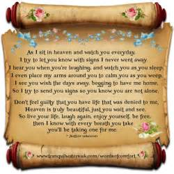 grief quotes for loved ones quotesgram