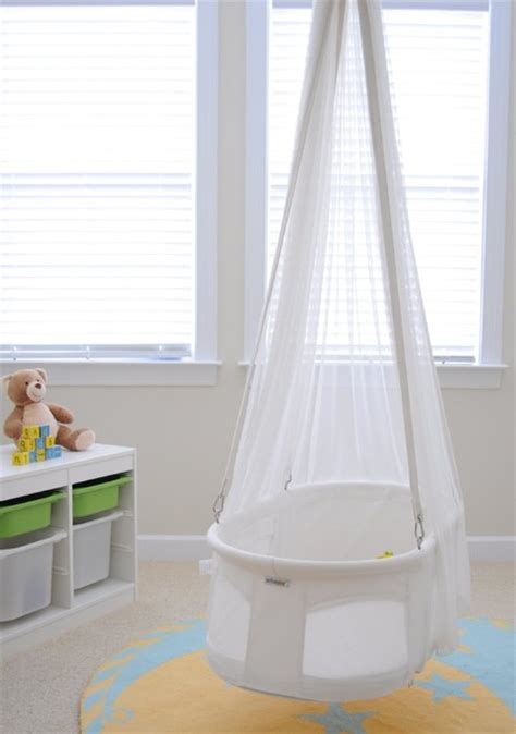 how to hang a baby swing without a tree dreambur designer hanging bassinet contemporary baby