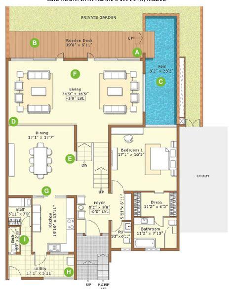 embassy floor plan embassy grove 4 5 bedroom villaments bangalore