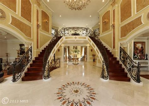 the mansion project the mansion s grand stair hall remarkable custom build 7 900 000 pricey pads