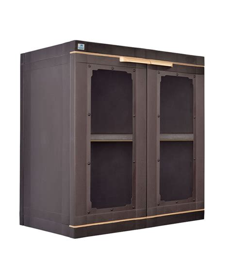 nilkamal freedom 2 door cabinet with 2 drawers brown nilkamal freedom 2 door cabinet brown buy nilkamal
