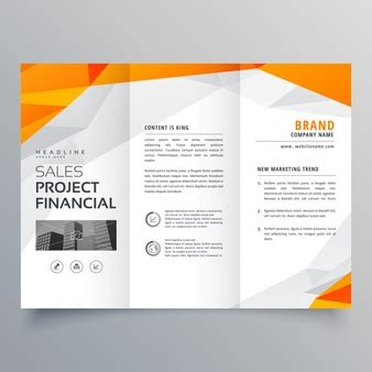 travel business card template with orange wavy designs brochure vectors photos and psd files free