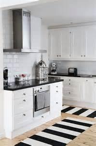 black white kitchen chic black and white kitchen stunning home decor