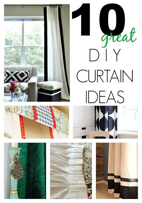 10 great diy curtain ideas on a budget diy crafts diy