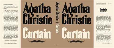curtain agatha christie curtain agatha christie