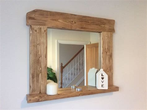 Handmade Wooden Mirrors - beautiful quality handmade rustic style wooden mirror
