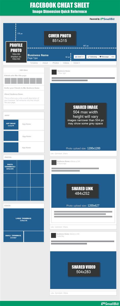 fb post size 2014 facebook image dimension guide gosmallbiz