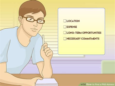 phd advisor questions how to find a phd advisor 11 steps with pictures wikihow