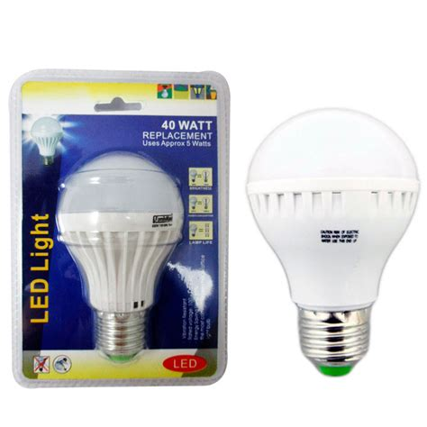 Bright Led Light Bulb 4 Energy Saving 40 Watt Bright White Led Light Bulb L Home Office Lighting Ebay