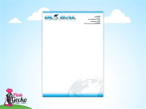 Business Letterhead Globe Globe Business Letterhead Template Quotes