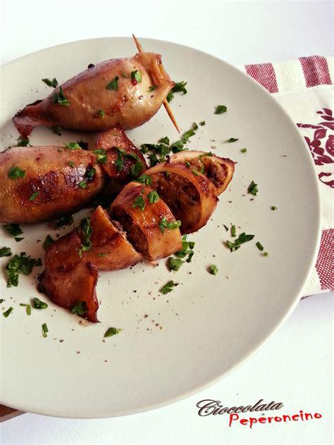 come cucinare totani totani ripieni ricetta secondo piatto ricco e saporito