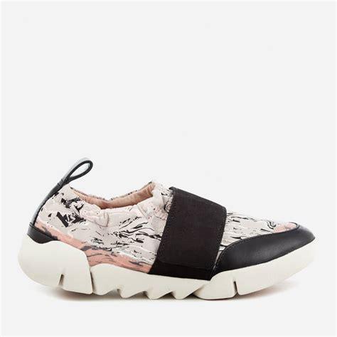 printable clarks vouchers clarks women s tri gardenia leather trainers light grey