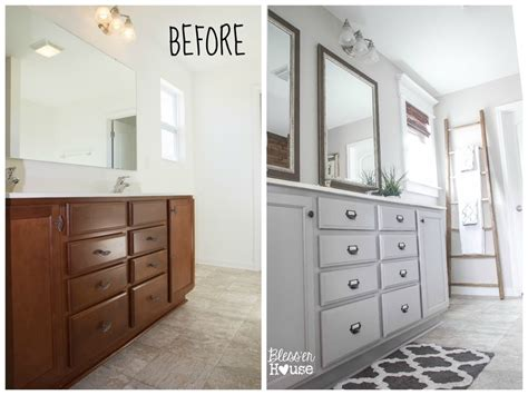 bathroom builder master bathroom budget makeover builder grade to rustic industrial bless er house