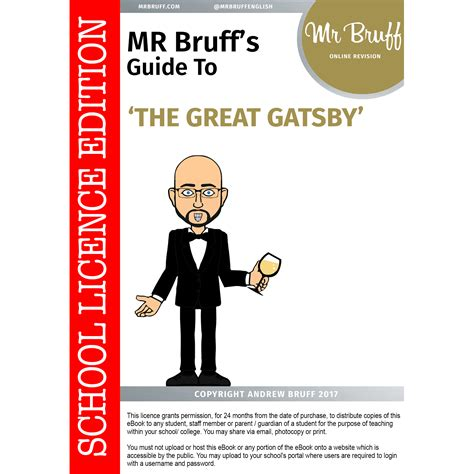 feminist themes in the great gatsby mr bruff s guide to the great gatsby school licence