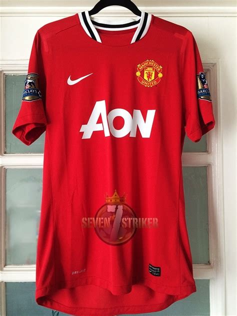 Jersey Manchester United Gk Home 11 12 manchester united 11 12 rooney 100 match home utiler 237 a