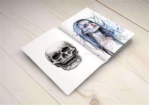 sketchbook mock up notebook mock up sketch book mock up artist by mock up