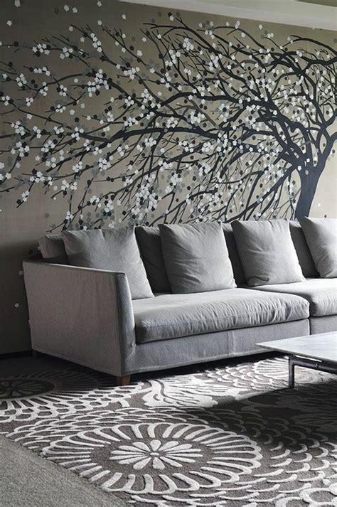 Silver Bedrooms 80 atemberaubende modelle ausgefallene tapeten archzine net