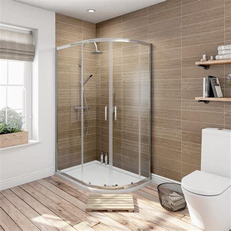 Modern Bathroom Designs For Couples Orchard 6mm Sliding Door Offset Quadrant Shower Enclosure
