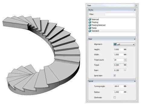 Software Diseno De Casas escaleras de caracol in visualarq software de