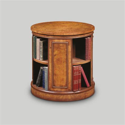circular bookshelves iain furniture amc235 walnut circular revolving bookcase