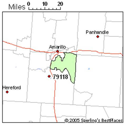amarillo texas zip code map best place to live in amarillo zip 79118 texas