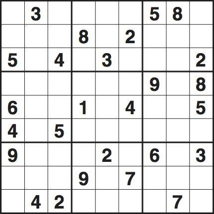 sudoku printable version sudoku 3632 hard life and style the guardian