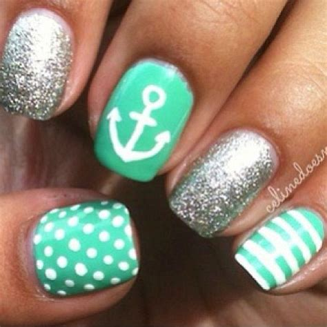 summer acrylic nail designs with anchor 17 best images about naildesgnart2015 on pinterest