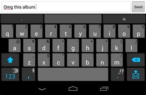 home row heroes alternative keyboard apps for android ars technica - Keyboard Android