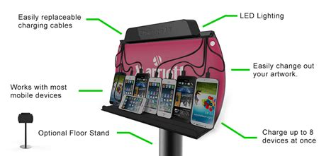 wall mounted cell phone charging station wall mounted cell phone and tablet charging station