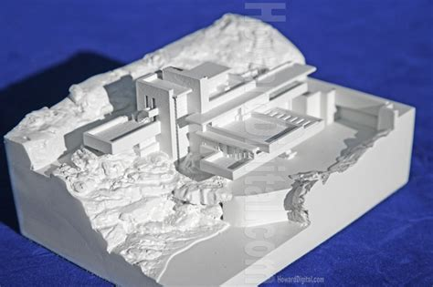 Fallingwater Floor Plan by The Falling Water Wright Architectural Model Howard