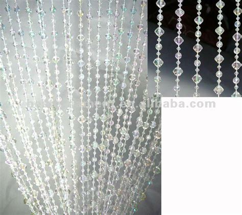 acrylic beaded curtains acrylic beaded curtains 6ft emerald cut acrylic beaded