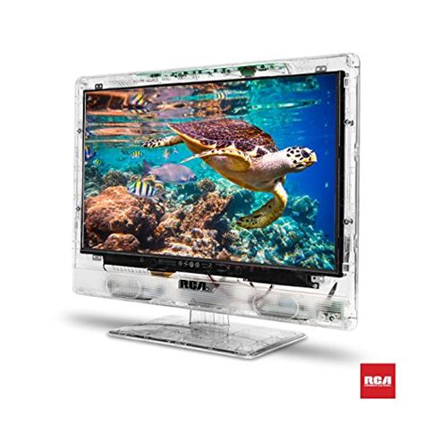rca 15 clearview hdtv transparent led hd television high resolution wide screen monitor w