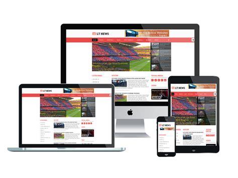 magazine responsive layout lt news responsive joomla news template