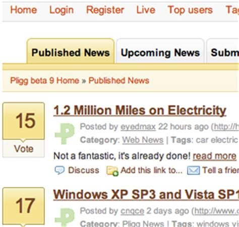 ads module for pligg top promo