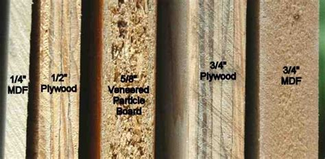 cabinet grade plywood vs mdf mf cabinets