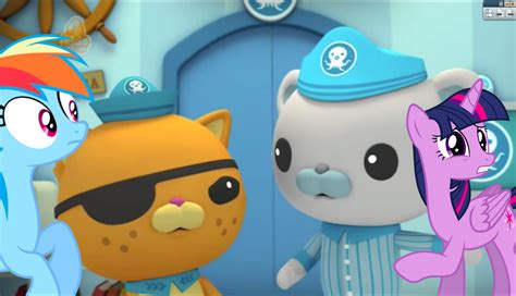 octonauts painting octonauts and the jellyfish bloom crossover part 6 by
